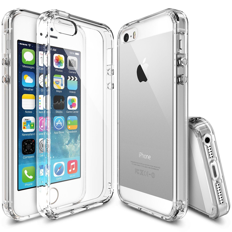 Ringke Fusion Case iPhone 5 / 5s / SE - Clear Transparan