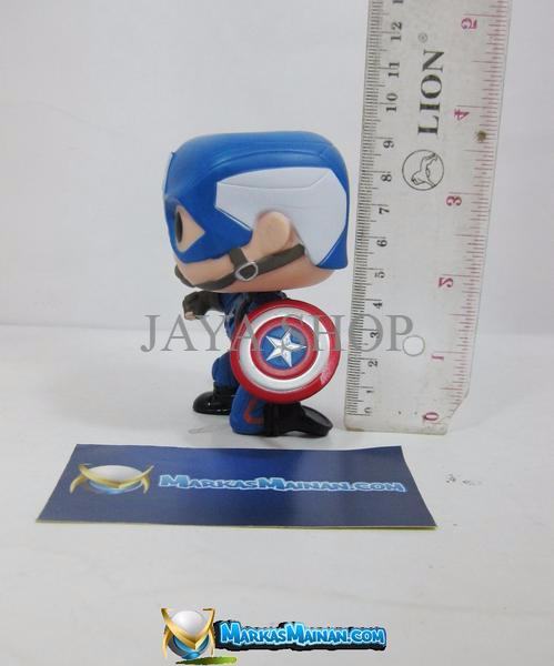 Funko POP: Civil War - Captain America Action Pose