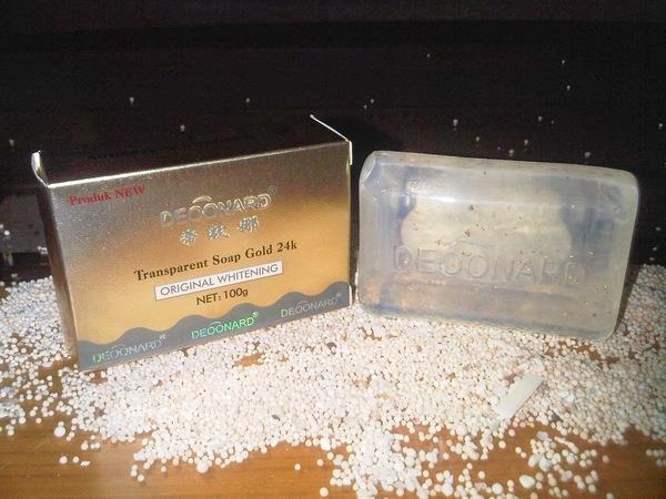 EXCLUSIVE DEOONARD SOAP GOLD 24K / SABUN EMAS LIMITED EDITION