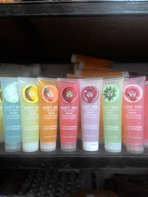 EXCLUSIVE BODY SPA NEW / BODY SHOP PEELING GEL SPA 400ML TERMURAH