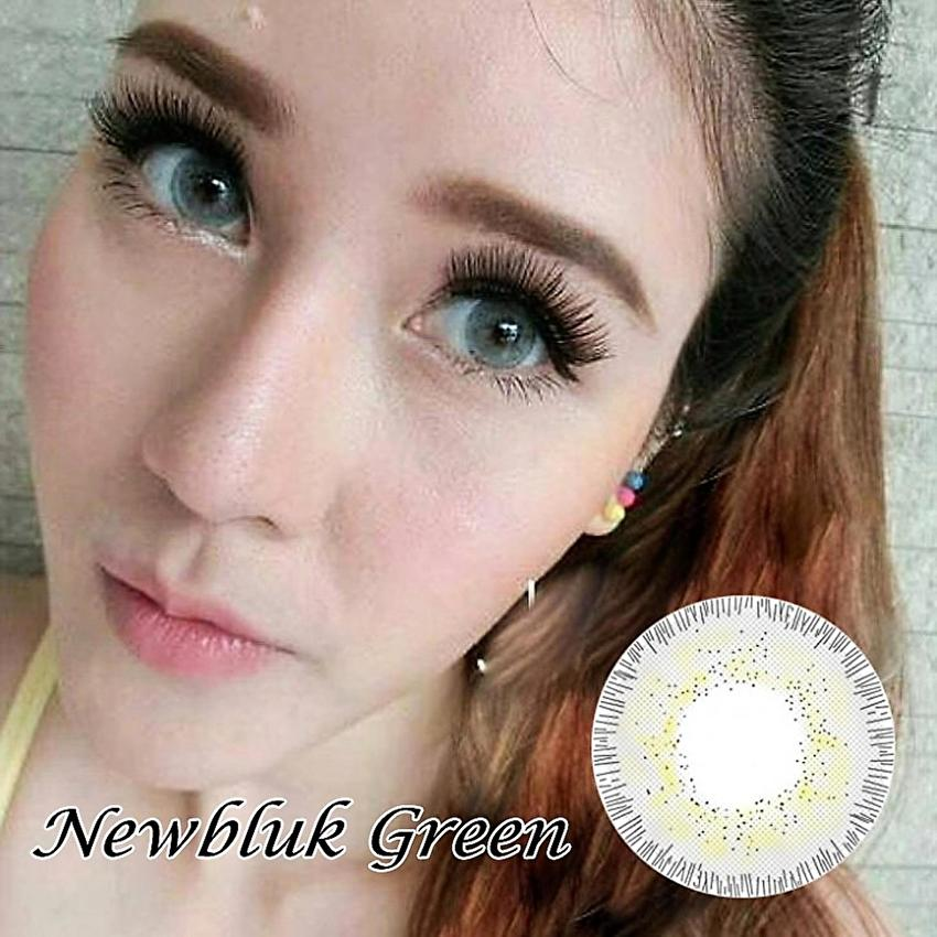 Jual Newbluk Softlens - Green + Gratis Lenscase - Optik Giant | Tokopedia