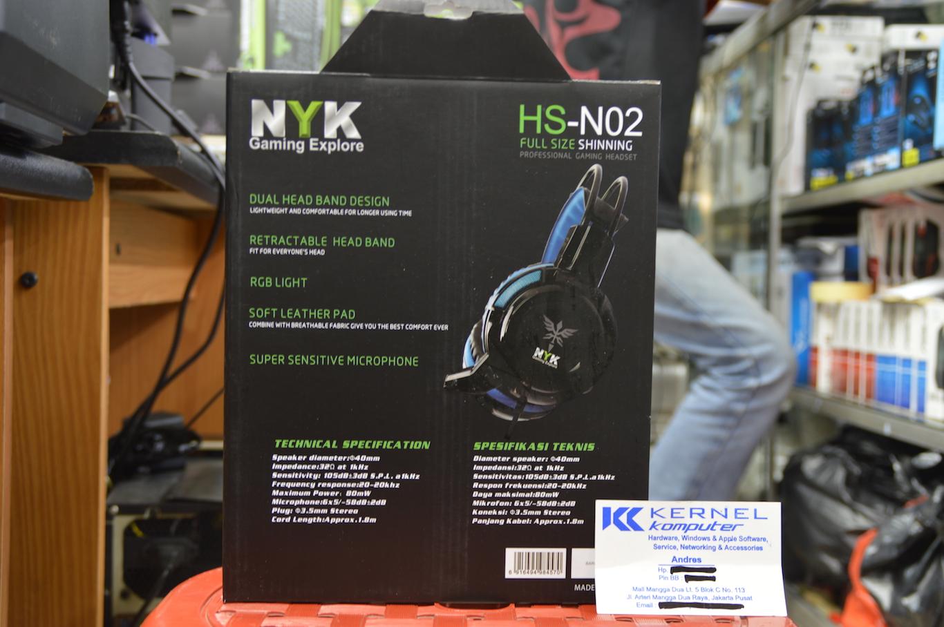 Jual Headset Gaming Nyk Hs N06 Welcome To N05 05 N02
