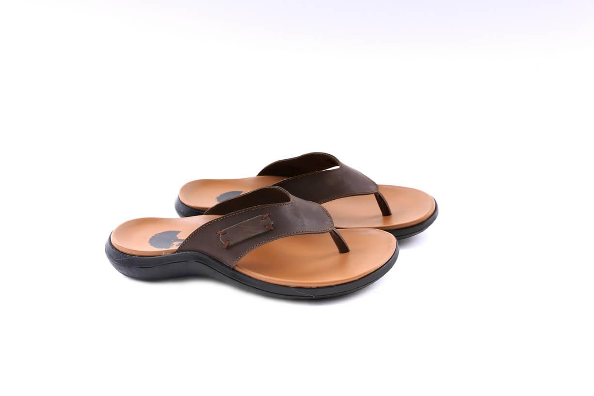 PROMO Sendal Sandal Flat Santai Pria Cowok Casual SH 3095