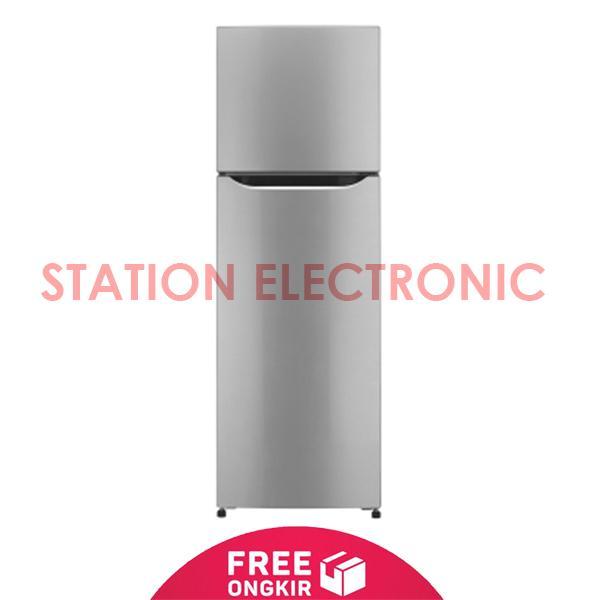 LG Kulkas 2 Pintu Smart Inverter GN-B202SLCL - Silver - Free Shipping