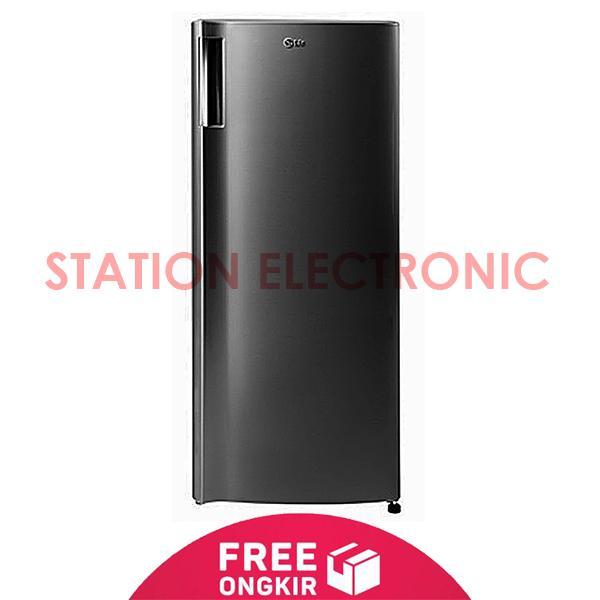 LG GN-304SL Kulkas Freezer [1 Pintu / 6 Rak / 160L] - Free Shipping Jabo