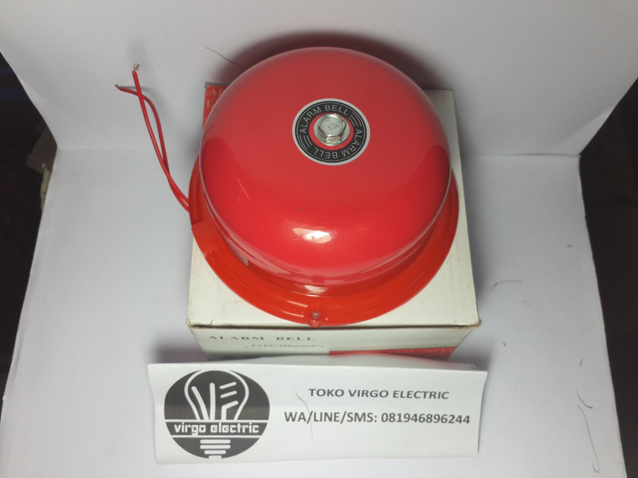Atn Alarm Bell Listrikbunyi Bel Kring Multifungsi 100mm 4 Red Sekolah Tet Buzzer Pabrik Istirahat