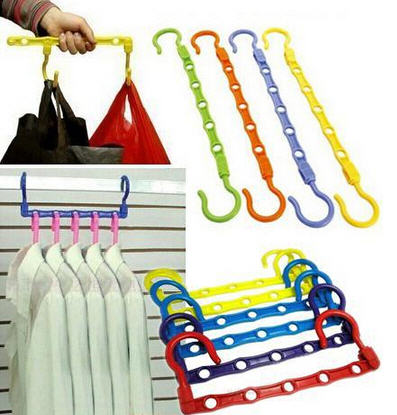 Magic Wonder Hanger Gantungan Baju Praktis Organizer