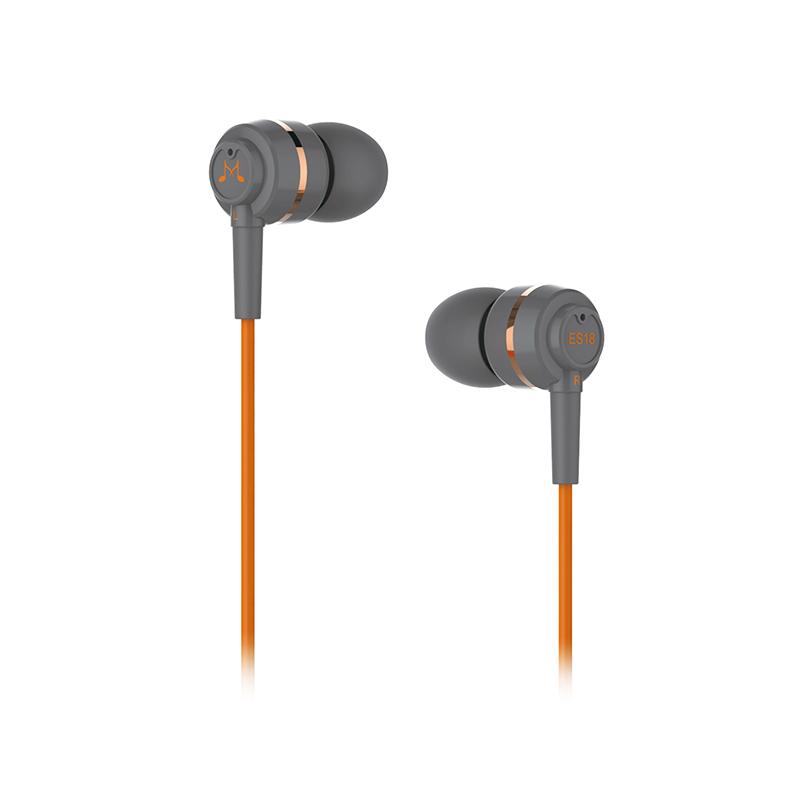 harga Soundmagic Es18 In Ear Headphone Headset Earphone Tanpa Microphone Original Garansi 1 Tahun - Orange Blanja.com