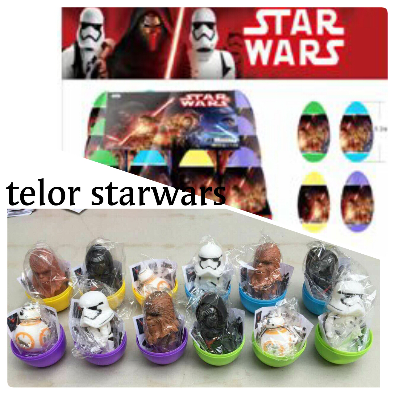 Surprise Egg Starwars