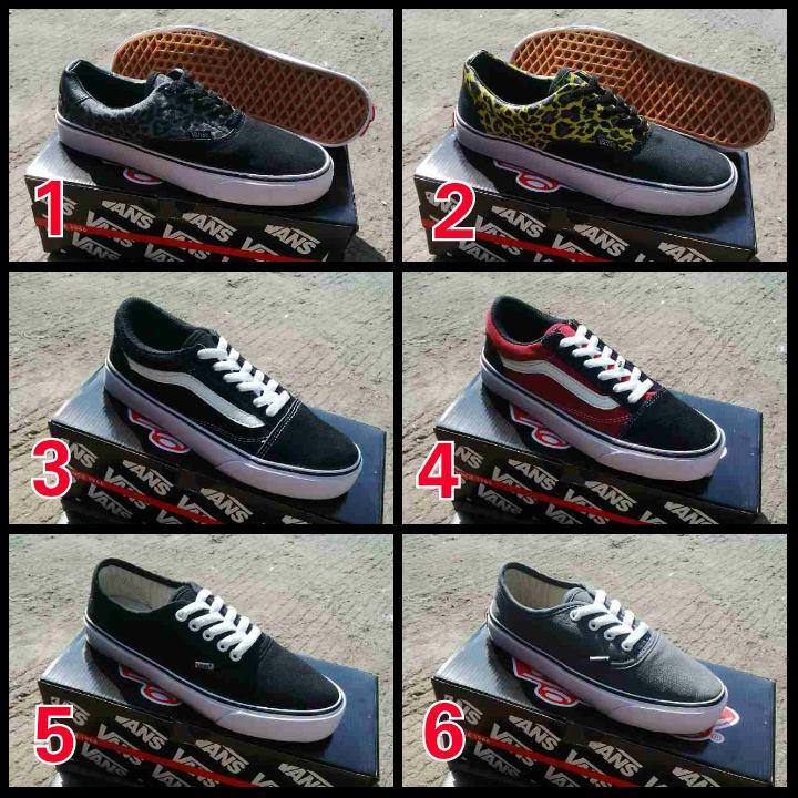 Murah HD-148 Vans Oldskool Sepatu Sneakers Kets Pria4