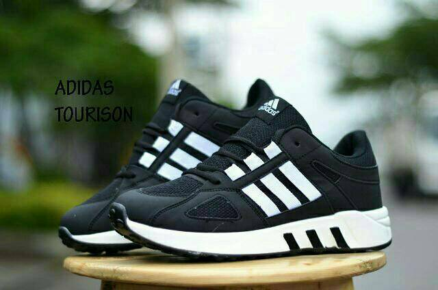 Adidas Torsion Black White2