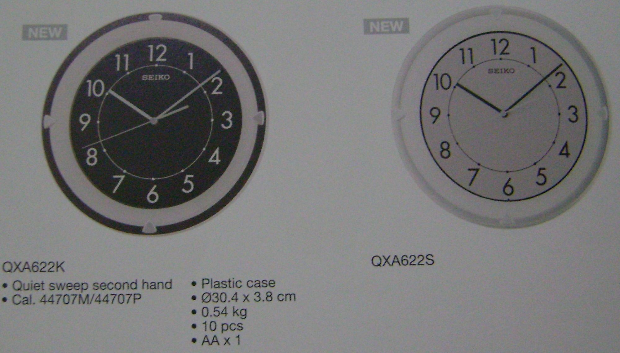 Clock - Seiko - QXA6221