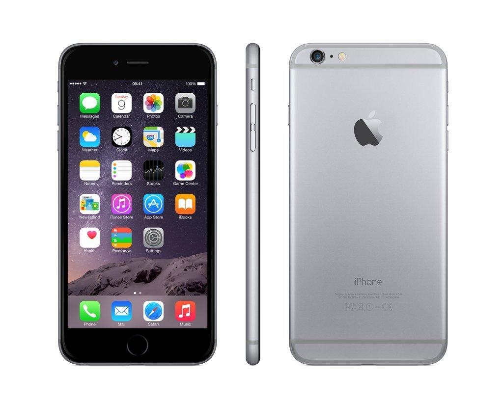 Apple Iphone 6 Plus Grey 128gb - New Original Garansi 1 Tahun