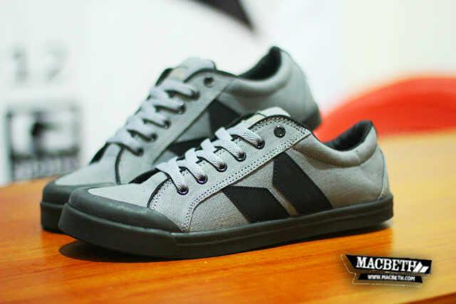 Murah Macbeth Vegan Grey SS-019 Sepatu Sneakers Kets4