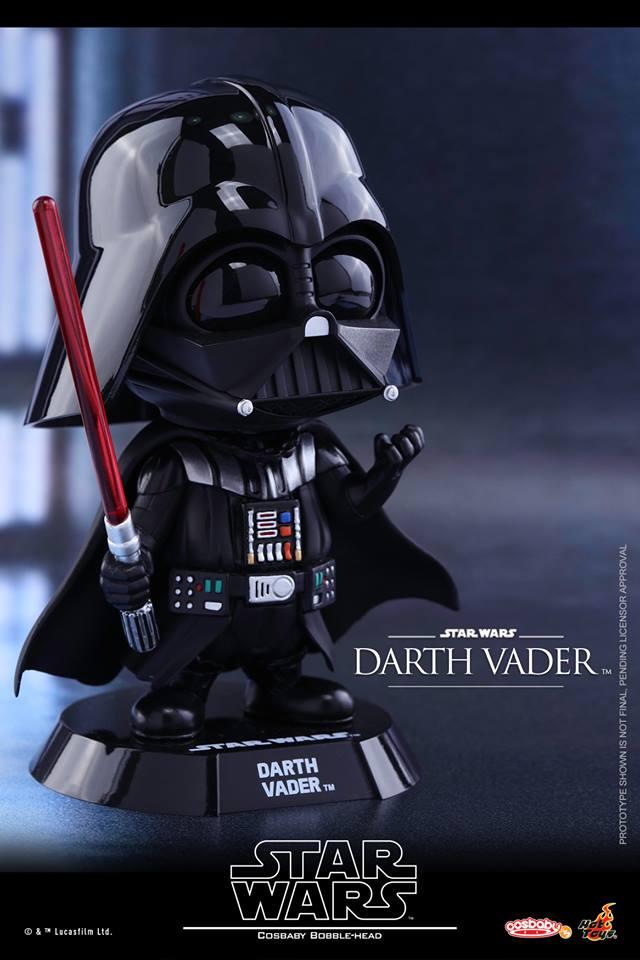 Hottoys Cosbaby Darth Vader