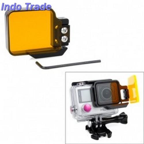 TMC Light Motion Night Under Sea Filter For GoPro Hero 4/3 + - Orange