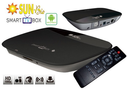 PG SUN-Bio Android Smart TV Box Sale Promo Diskon