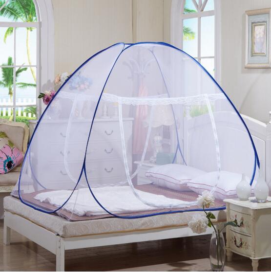 Kelambu Tempat Tidur Anti Nyamuk / Selambu Lipat Korea Bed 200 X 200