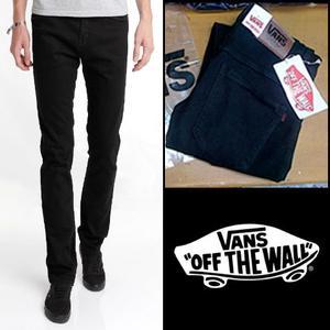 Celana VAN HITAM / Celana Jeans VANZ BLACK / PENSIL / SKINNY
