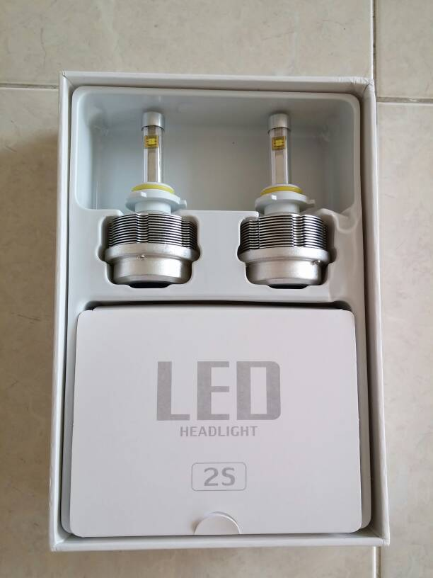 [HQ] SSD ETi LED 2S Headlight Lampu Utama Mobil H7 H8 H9 H11 HB3 HB4