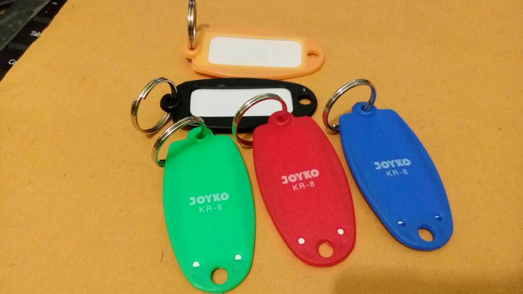 Gantungan Kunci Label / Gantungan Nama (Nametag Key)