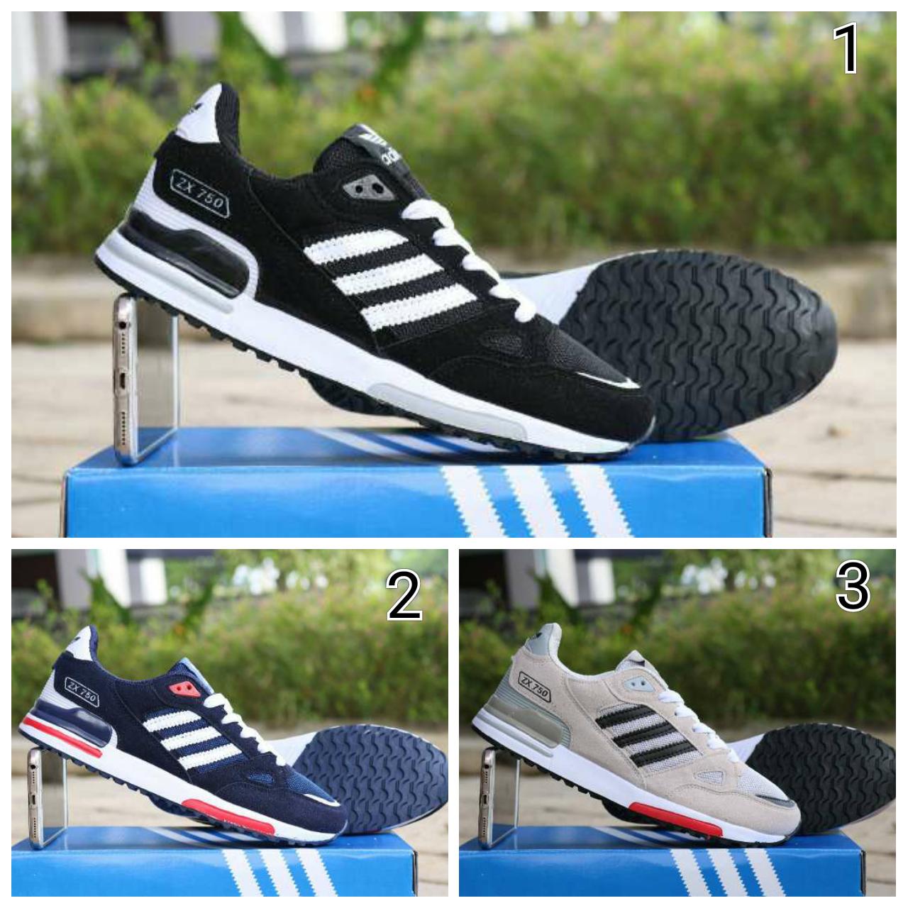 Sepatu Pria, Adidas ZX 750 Import Murah Promo