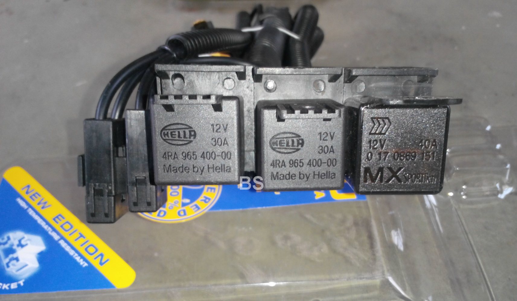 Hella Kabel Relay Lampu / Kabel Set 3 Relay 2 Lampu Murah