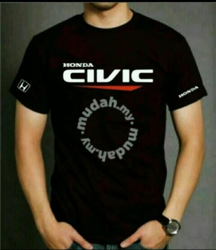 Kaos Pria Tshirt Big Size (Xxxl) HONDA CIVIC