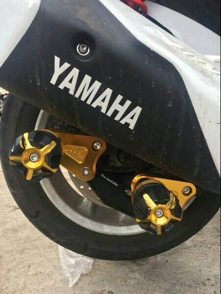 Slider Pelindung Knalpot Yamaha Nmax Model Bykers