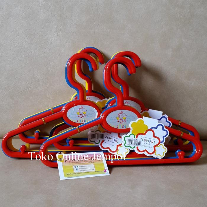 Hanger Gantungan Baju Ukuran Anak Anak (1 Set Isi 6 Pcs)