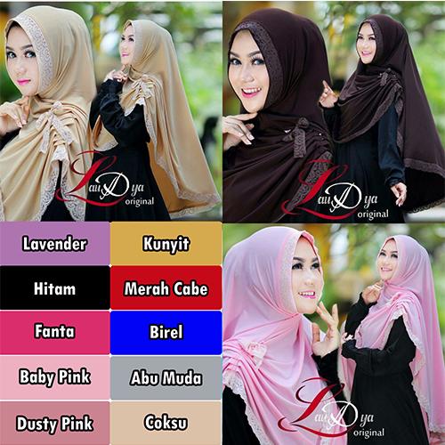 TERBATAS Hijab / Jilbab Syar'i Yolanda TERLARIS