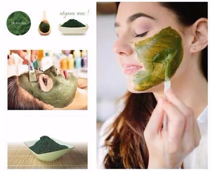 Masker Wajah Alami | Masker Spirulina