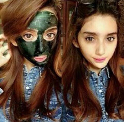Masker Hijau | Masker Spirulina