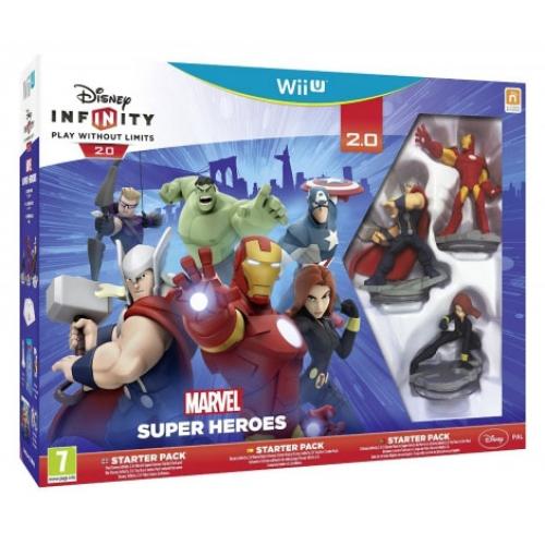 INFINITY MARVEL SUPER HERO STARTER PACK (WII U)