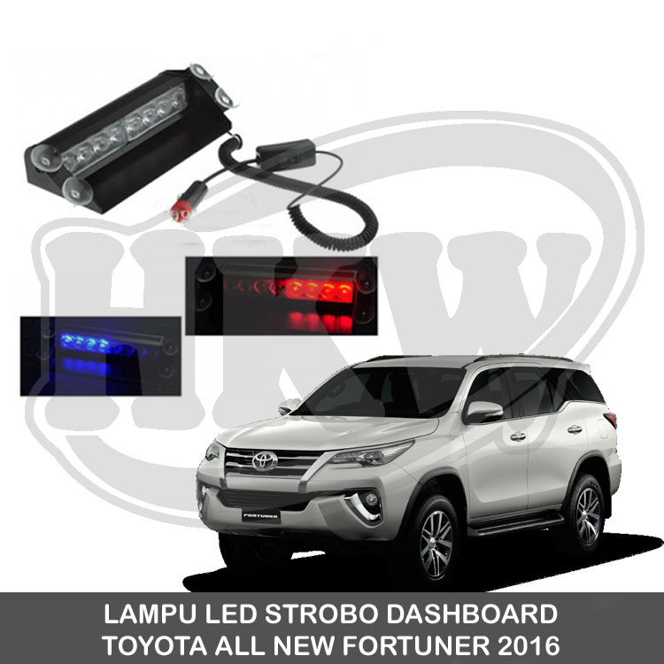 LAMPU LED STROBO DASHBOARD TOYOTA ALL NEW FORTUNER 2016 Diskon