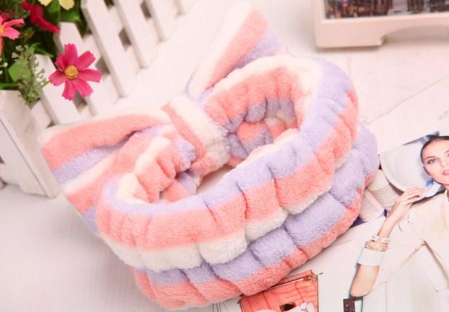 Handuk Kepala / Rambut Tipe Bando Untuk Cuci Muka / Mandi [BHR010]