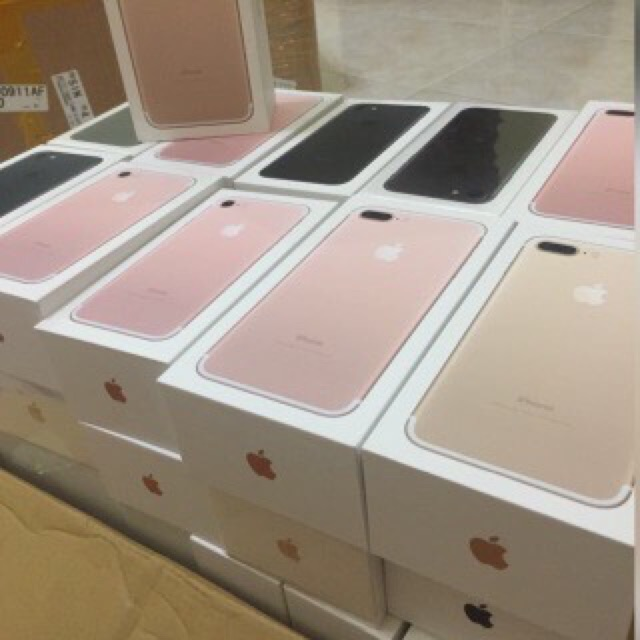 READY STOK BNIB Iphone 256GB 7PLUS ROSEGOLD\GOLD GARANSI APPLE 1TAHUN