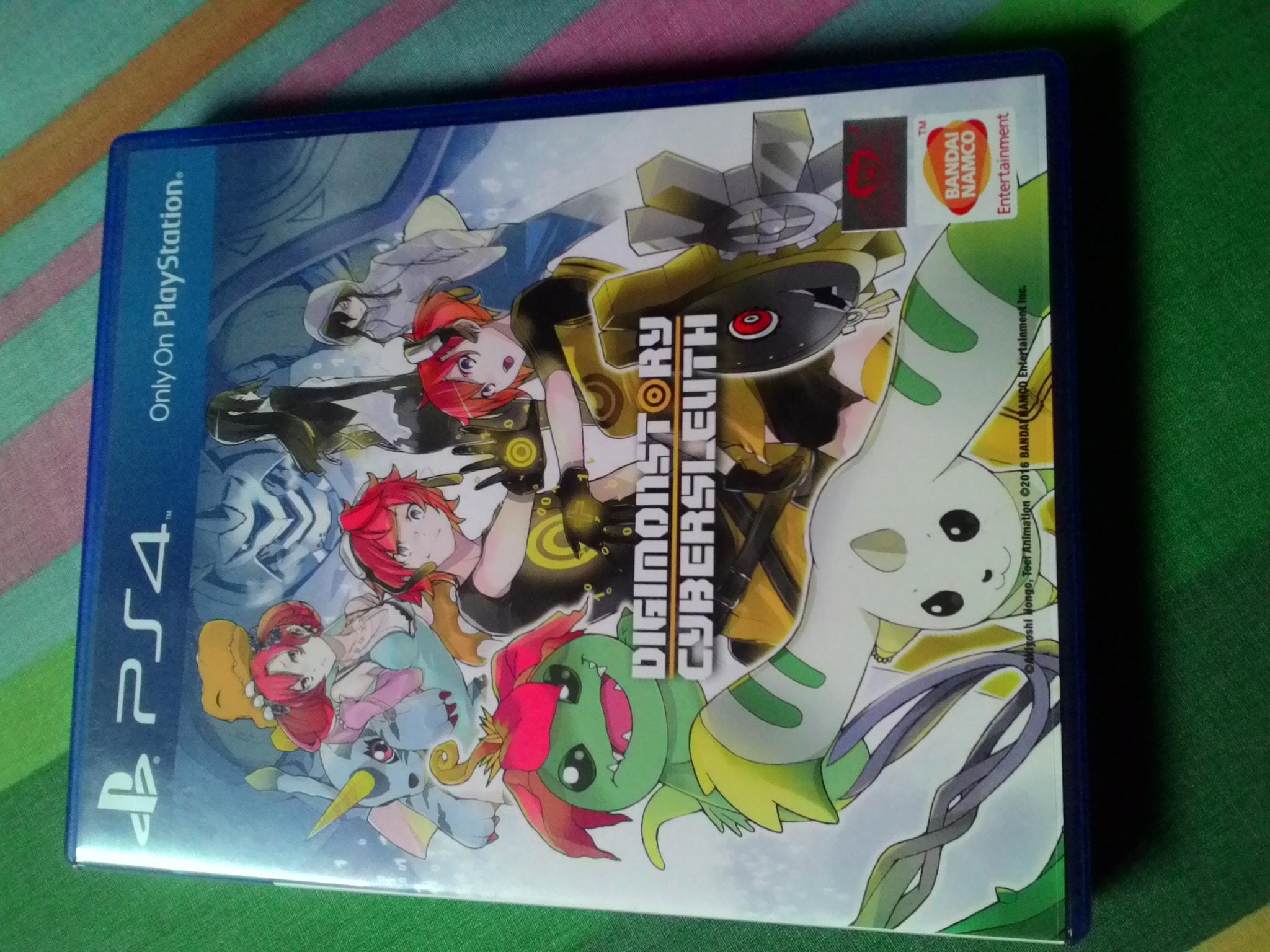 Kaset BD PS4 Digimonstory SECOND.