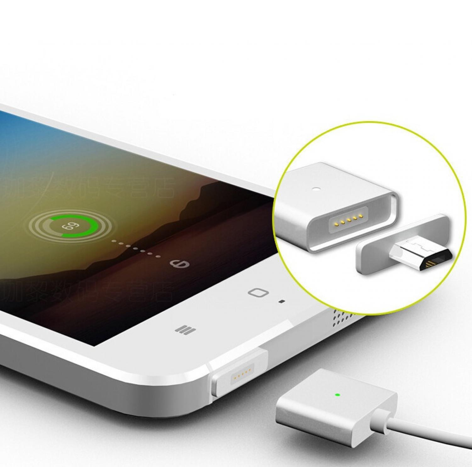 Magnetic Micro USB Quick Charging Cable For Smartphone