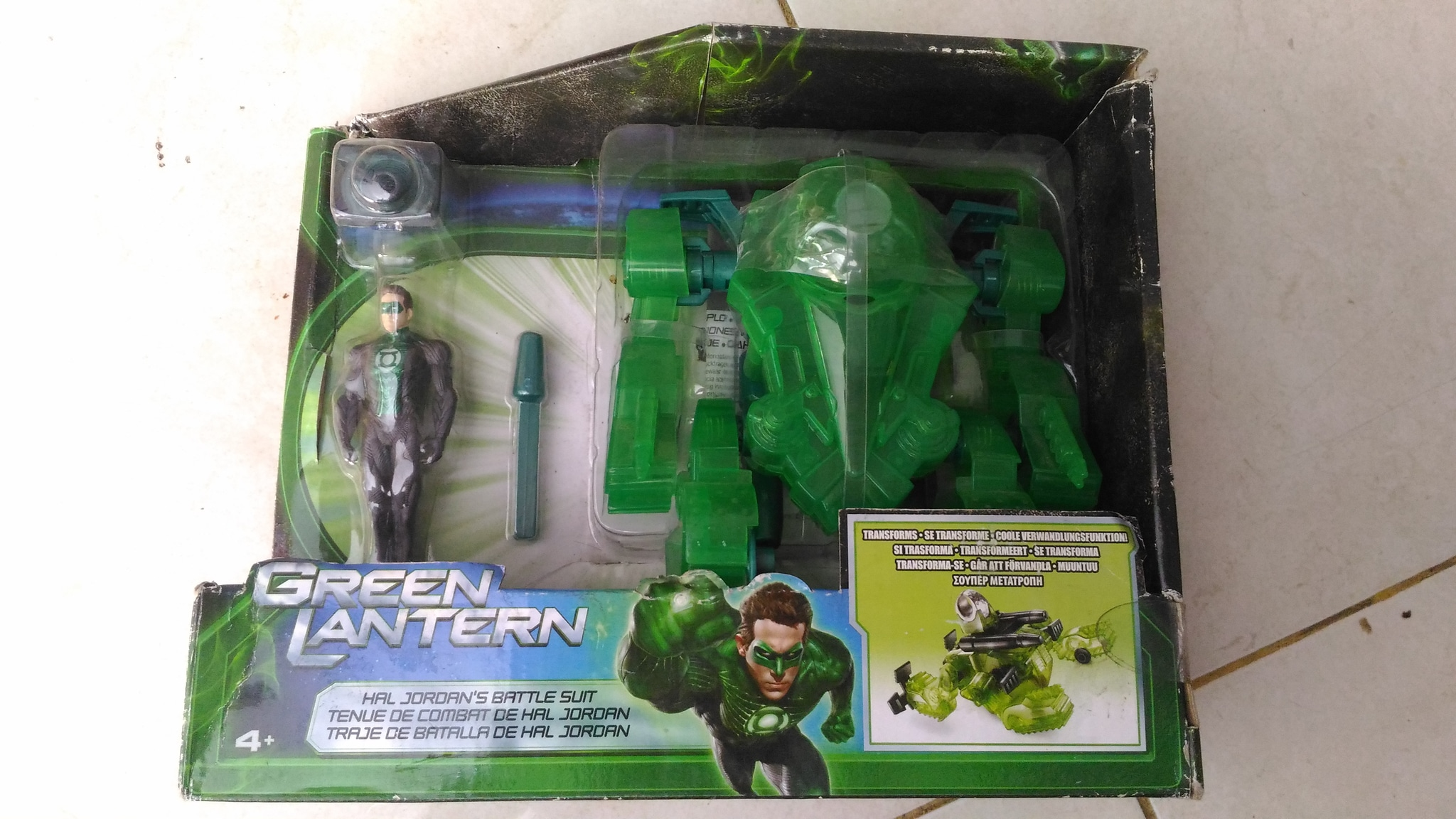 Green Lantern Hal Jordans Battle Suit