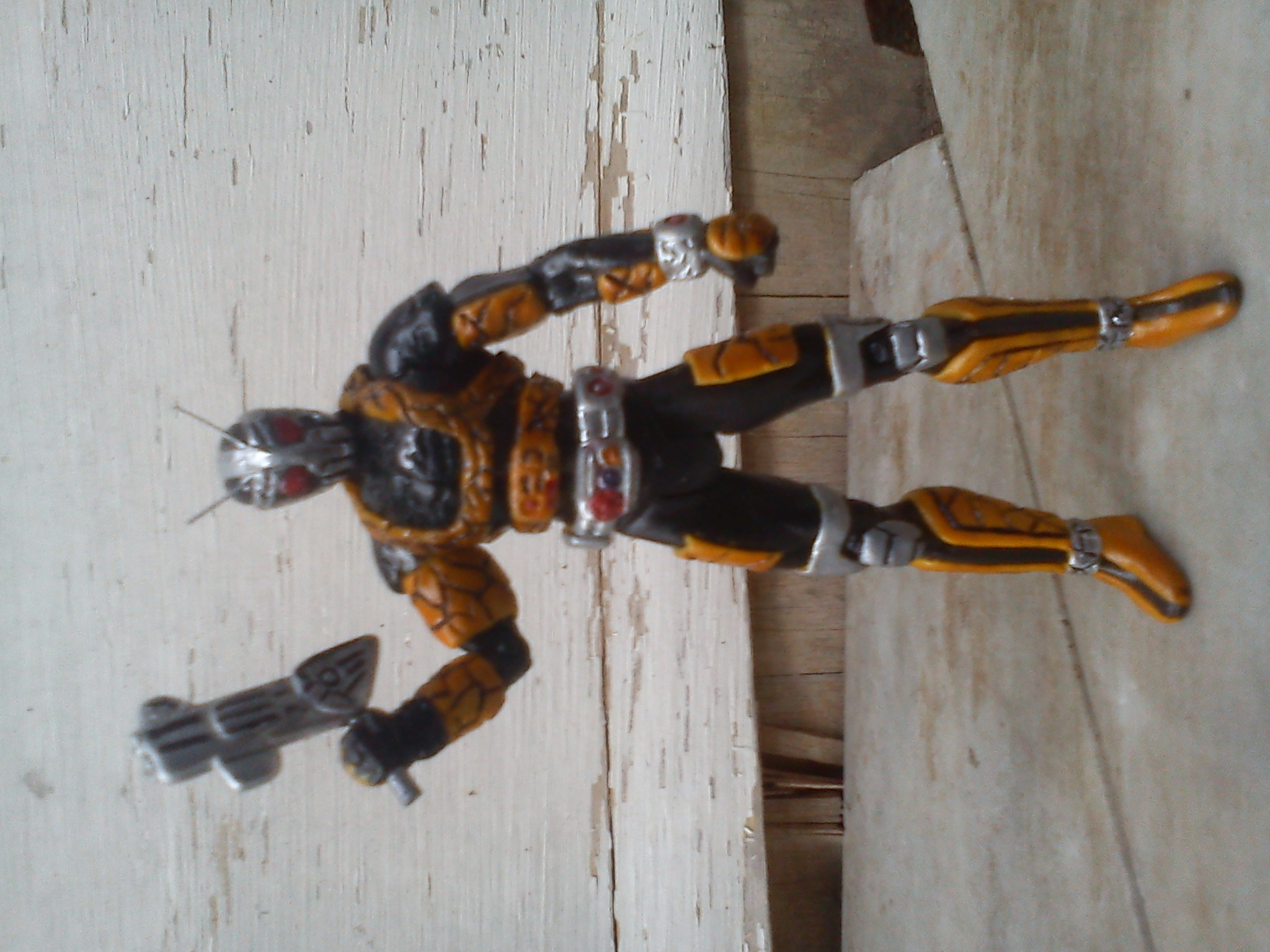 Action Figure Custom Kamen Rider Black RX Robo SIC Style