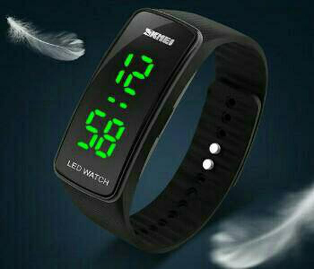 Jam Tangan Led Gelang Wristband 19 D9 Murah