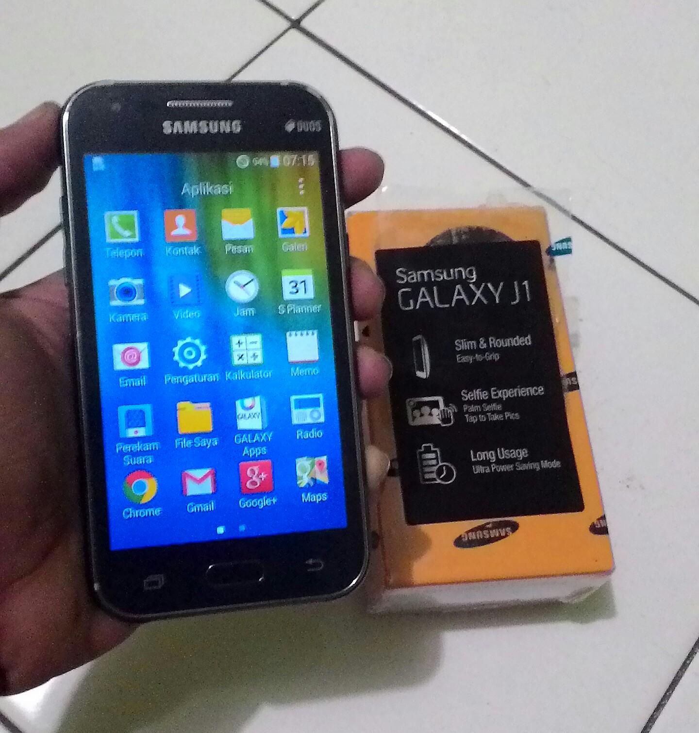 Samsung Galaxy J1 SM-J100H - Murah Meriah - Minus