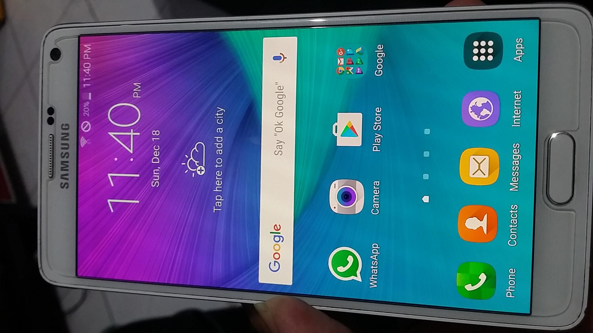 Samsung Galaxy Note 4 4g Lte N910s