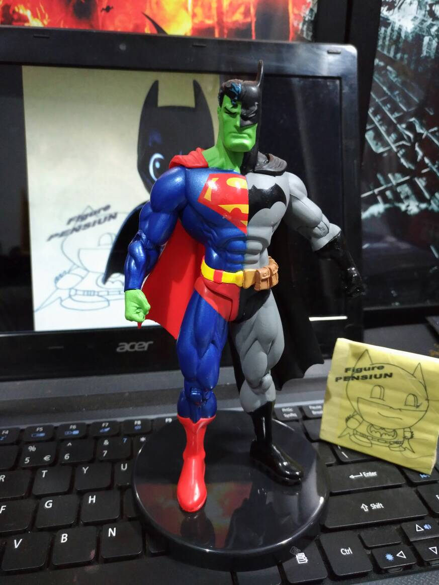 Batman Composite Superman Action Figure