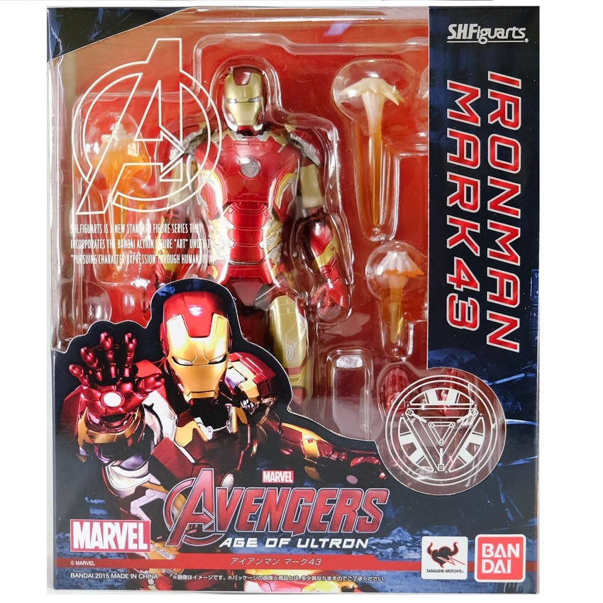 Bandai S.H.Figuarts Iron Man Mark 43