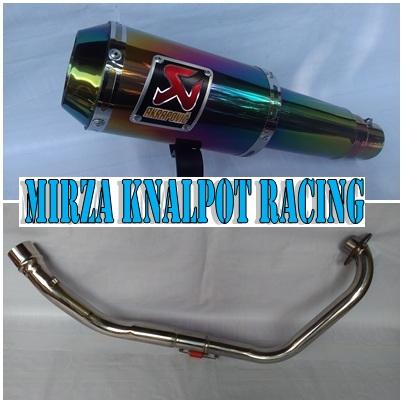 Knalpot Akrapovic Gp M1 Renbow Tiger / Megapro / Cb150R / CBR150 / CS1 / Verza