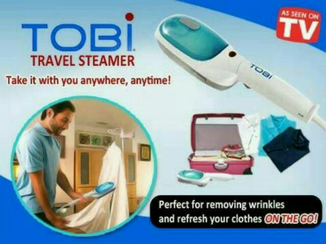 Tobi Travel Steamer / Setrika Uap Tobi