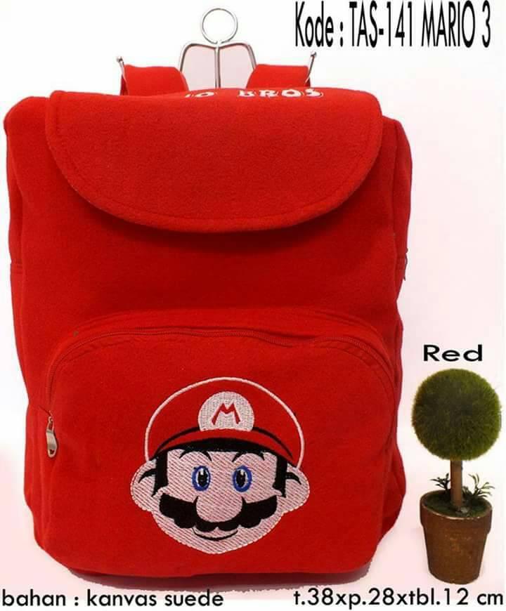 Tas Karakter - Tas.141 Mario 3