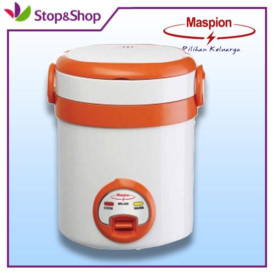 Maspion MRJ-029 Mini Travel Cooker Penanak Nasi 3IN1